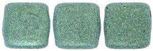 De Tile Bead van het merk CzechMates is 6mm en leuk te combineren met andere two hole beads en is te koop bij kralenwinkel Limited Edition in Den Haag in de kleur 23980-79051.