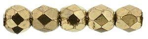 De glazen Fire Polished 2mm beads worden veel gebruikt in sieraden patronen en zijn te koop bij kralenwinkel Limited Edition in Den Haag in de kleur B23980.