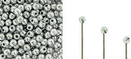 Finial beads zijn ronde kralen met een half geboord gat en is te koop bij kralenwinkel Limited Edition in Den Haag in de kleur 00030-27000.