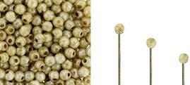 Finial beads zijn ronde kralen met een half geboord gat en is te koop bij kralenwinkel Limited Edition in Den Haag in de kleur 02010-65401.