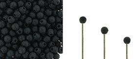 Finial beads zijn ronde kralen met een half geboord gat en is te koop bij kralenwinkel Limited Edition in Den Haag in de kleur 23980-84110.