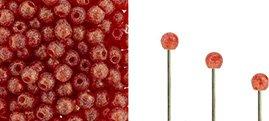Finial beads zijn ronde kralen met een half geboord gat en is te koop bij kralenwinkel Limited Edition in Den Haag in de kleur 90080-79411.