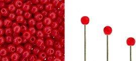 Finial beads zijn ronde kralen met een half geboord gat en is te koop bij kralenwinkel Limited Edition in Den Haag in de kleur 93200.