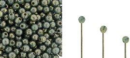 Finial beads zijn ronde kralen met een half geboord gat en is te koop bij kralenwinkel Limited Edition in Den Haag in de kleur 63130-15695.