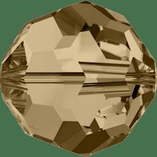 De Swarovski 5000 kraal is te koop bij kralenwinkel Limited Edition in de maat 2mm in de kleur Crystal Golden Shadow.
