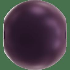 Deze glasparel van 4mm van Swarovski is te koop bij kralenwinkel Limited Edition in Den Haag in de kleur Crystal Elderberry Pearl.