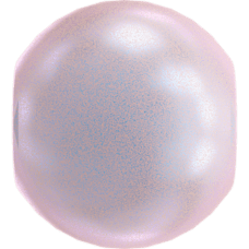 Deze glasparel van 4mm van Swarovski is te koop bij kralenwinkel Limited Edition in Den Haag in de kleur Crystal Iridescent Dreamy Rose Pearl.