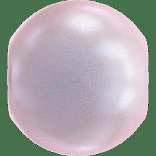 Deze glasparel van 2mm van Swarovski is te koop bij kralenwinkel Limited Edition in Den Haag in de kleur Crystal Iridescent Dreamy Rose Pearl.