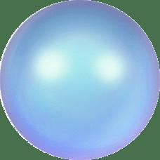 Deze glasparel van 4mm van Swarovski is te koop bij kralenwinkel Limited Edition in Den Haag in de kleur Crystal Iridescent Light Blue Pearl.