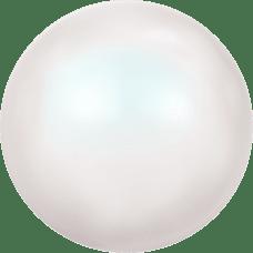 Deze glasparel van 8mm van Swarovski is te koop bij kralenwinkel Limited Edition in Den Haag in de kleur Crystal Pearlescent White Pearl.