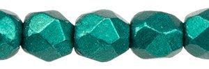 De glazen Fire Polished 2mm beads worden veel gebruikt in sieraden patronen en zijn te koop bij kralenwinkel Limited Edition in Den Haag in de kleur 07B04.