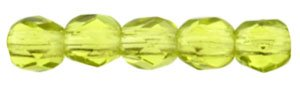 De glazen Fire Polished 2mm beads worden veel gebruikt in sieraden patronen en zijn te koop bij kralenwinkel Limited Edition in Den Haag in de kleur 50230.