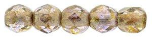 De glazen Fire Polished 2mm beads worden veel gebruikt in sieraden patronen en zijn te koop bij kralenwinkel Limited Edition in Den Haag in de kleur LG00030.