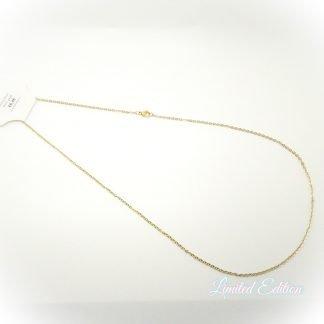 Deze rvs ketting is 60cm lang en is te koop bij kralenwinkel Limited Edition Den Haag.