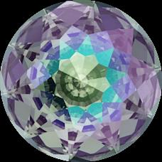 Deze Dome round van swarovski is te koop bij kralenwinkel Limited Edition in Den Haag in de kleur Crystal Paradise Shine Foiled.