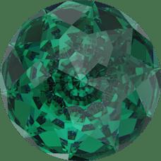 Deze Dome round van swarovski is te koop bij kralenwinkel Limited Edition in Den Haag in de kleur Emerald.