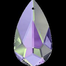 De Swarovski 6100 hanger is te koop bij kralenwinkel Limited Edition in de maat 24x12mm in de kleur Crystal Vitrail Light.