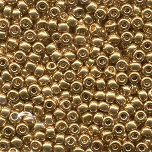 De rocaille seed bead van het Japanse merk Miyuki is te koop bij kralenwinkel Limited Edition in Den Haag in de maat 06-0191.