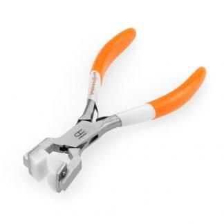 Met deze tang kun je armbanden vormen van ring blanks en is te koop bij kralenwinkel Limited Edition in Den Haag.