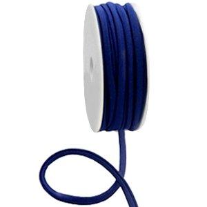 Dit elastichse gestikte Ibiza 5mm lint is te koop bij kralenwinkel Limited Edition in Den Haag in de kleur donker blauw.
