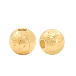 Deze gouden kraal met oog van DQ kwaliteit is te koop bij kralenwinkel Limited Edition in Den Haag.