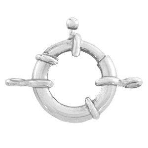 Dit boei slot van DQ metaal is te koop bij kralenwinkel Limited Edition in Den Haag in de maat 21mm in de kleur antiek zilver.