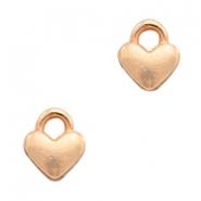 Deze bedel van Designer Quality in de vorm van een hartje zijn te koop bij kralenwinkel Limited Edition in Den Haag.