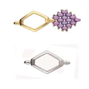 De onderdelen van Cymbal zijn ervoor gemaakt om een bepaalde kraal soort te vervangen of af te werken en zijn te koop bij kralenwinkel Limited Edition in de vorm Kotroni in de kleur zilver.