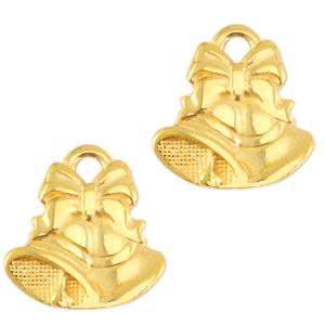 Deze bedel van Designer Quality in de vorm van een kerstklokken zijn te koop bij kralenwinkel Limited Edition in Den Haag.