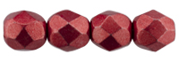 De glazen Fire Polished beads worden veel gebruikt in sieraden patronen en zijn te koop bij kralenwinkel Limited Edition in Den Haag in de kleur 08A07.