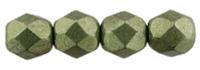 De glazen Fire Polished beads worden veel gebruikt in sieraden patronen en zijn te koop bij kralenwinkel Limited Edition in Den Haag in de kleur 08A06.