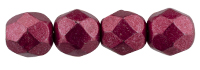 De glazen Fire Polished beads worden veel gebruikt in sieraden patronen en zijn te koop bij kralenwinkel Limited Edition in Den Haag in de kleur 08A09.