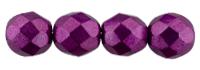 De glazen Fire Polished beads worden veel gebruikt in sieraden patronen en zijn te koop bij kralenwinkel Limited Edition in Den Haag in de kleur 08A04.