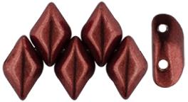 De Gemduo kraal van Matubo is erg leuk om te gebruiken in patroontjes en is te koop bij kralenwinkel Limited Edition in Den Haag in de kleur 07B10.
