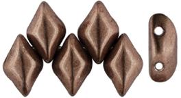 De Gemduo kraal van Matubo is erg leuk om te gebruiken in patroontjes en is te koop bij kralenwinkel Limited Edition in Den Haag in de kleur 08A01.
