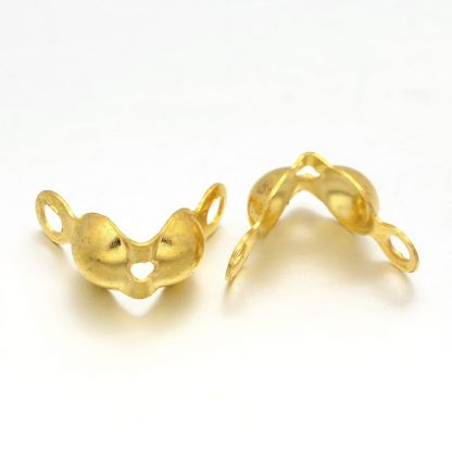 Deze kalotjes zijn ideaal om sieraden mee af te werken en te koop bij kralenwinkel Limited Edition in Den Haag.