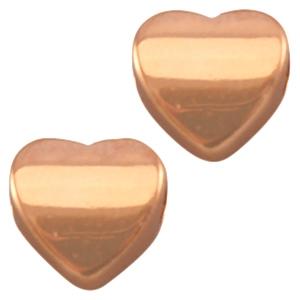 Deze gouden hartjes kraal van DQ kwaliteit is te koop bij kralenwinkel Limited Edition in Den Haag.