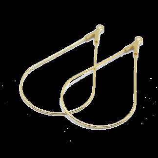 Deze metalen druppel word vaak in patronen van Puca gebruikt en is te koop bij kralenwinkel Limited Edition in Den Haag.