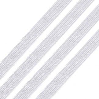 Dit elastiek kan geruikt worden om mondkapjes mee te maken en is te koop bij kralenwinkel Limited Edition in Den Haag.