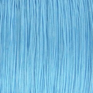Dit nylonkoord is fijn om mee te werken in de leukste kleuren en is te koop bij kralenwinkel Limited Edition in Den Haag in de maat 0.6mm in de kleur aqua blauw.