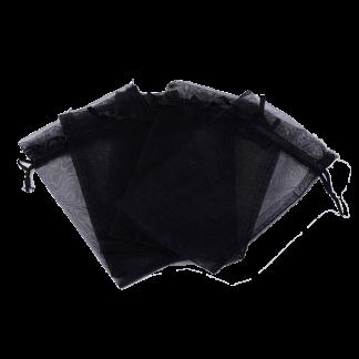Organza zakjes zijn ideaal om je sieraden in op te bergen of om als cadeauzakje te gebruiken en zijn te koop bij kralenwinkel Limited Edition in Den haag in de maat 10x15mm.