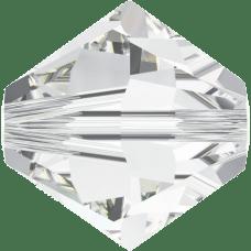 De Swarovski 5328 kraal is te koop bij kralenwinkel Limited Edition in de maat 4mm in de kleur Crystal.