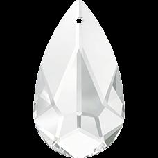 De Swarovski 6100 hanger is te koop bij kralenwinkel Limited Edition in de maat 24x12mm in de kleur Crystal.