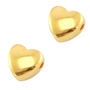 Deze zilveren hartjes kraal van DQ kwaliteit is te koop bij kralenwinkel Limited Edition in Den Haag.