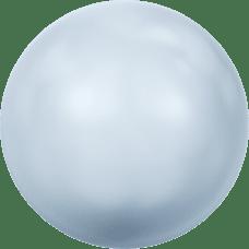 Deze glasparel van 10mm van Swarovski is te koop bij kralenwinkel Limited Edition in Den Haag in de kleur Crystal Light Blue Pearl.