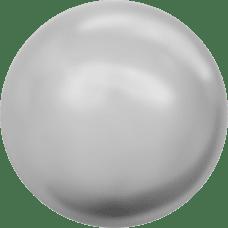 Deze glasparel van 10mm van Swarovski is te koop bij kralenwinkel Limited Edition in Den Haag in de kleur Crystal Light Grey Pearl.