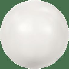 Deze glasparel van 10mm van Swarovski is te koop bij kralenwinkel Limited Edition in Den Haag in de kleur Crystal White Pearl.