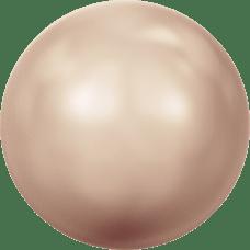 Deze glasparel van 2mm van Swarovski is te koop bij kralenwinkel Limited Edition in Den Haag in de kleur Crystal Rose Gold Pearl.