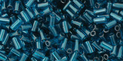 De glaskraal Bugle 3mm van het Japanse merk TOHO is te koop bij kralenwinkel Limited Edition in Den Haag in de kleur TB-01-7BD.
