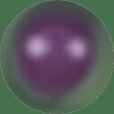 Deze glasparel van 8mm van Swarovski is te koop bij kralenwinkel Limited Edition in Den Haag in de kleur Crystal Iridescent Purple Pearl.